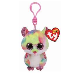 TY Rodney Hamster Booclip Soft Toy