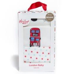 Hamleys London Baby Dribble Bibs Three Pack