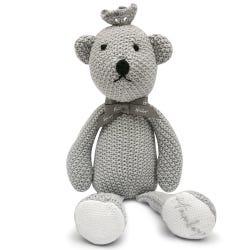 Hamleys Royal Baby Knitted Teddy Bear