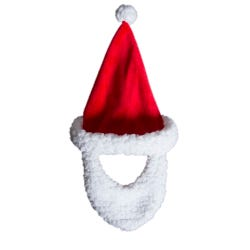 Hamleys Bear Santa Hat with Beard