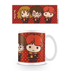 Harry Potter Kawaii Harry Ron Hermione Mug