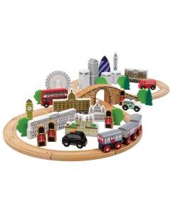 Tidlo City of London Train Set