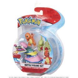 Pokemon Battle 3 Figure Pack Asst