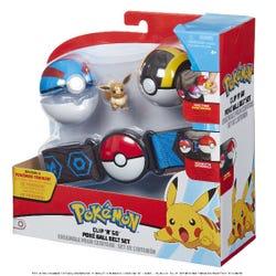 Pokemon Clip 'N' Go Poke Ball Belt Set - Assortment