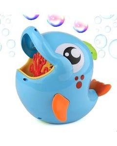 Hamleys B/O Dolphin Bubble Machine?8oz?