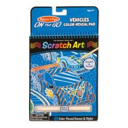 Melissa & Doug Scratch Art On The Go Assorted Pack