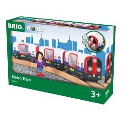 BRIO World Metro Tube Train