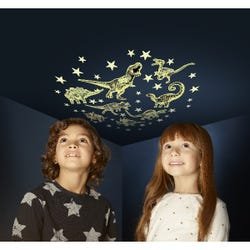 Glow Stars & Dinosaur Stickers