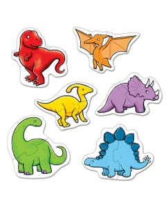 Dinosaurs 2 Piece Puzzle