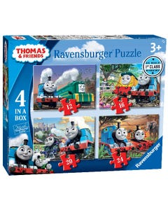 Ravensburger: Thomas & Friends Big World Adventures - 4 in a