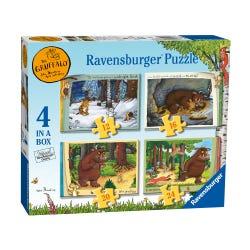 Ravensburger The Gruffalo 4 Puzzle Pack