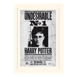 Harry Potter Undesirable No1 Loose Mounted Print
