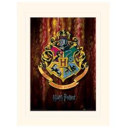 Harry Potter Hogwarts Crest Loose Mounted Print