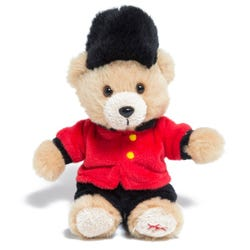 Hamleys Bear Guardsman Keyring