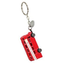 Hamleys London Bus Plush Keyring
