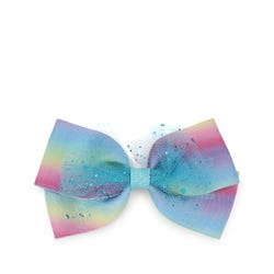 Luvley Multicoloured Net Bow Clip