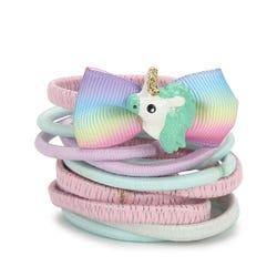Luvley Multicoloured Unicorn Motif Ponio Pack