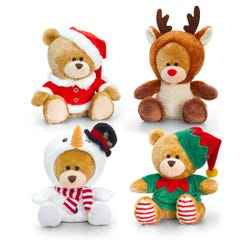 Keel Toys Christmas Pipp The Bear Asstd (20cm)