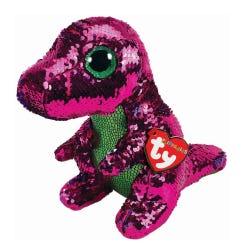 TY Stompy Dino Sequin Flippable Boo Medium