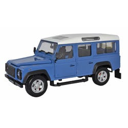 Cararama Land Rover Defender (Grey Blue) 1:24