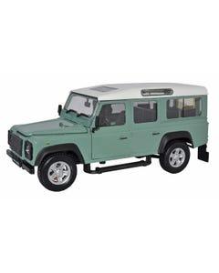 Cararama Land Rover Defender (Light Green) 1:24