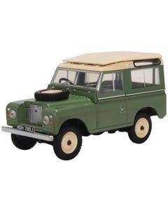 Land Rover Series IIA SWB Station Wagon Pastel Green