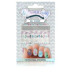 Mermzaing Nail Stickers Set