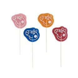 Peppa Strawberry and George Raspberry Lollipop