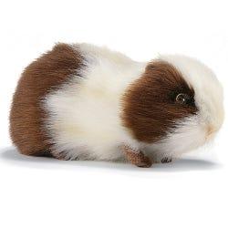 Hansa Toys 20cm Guinea Pig Brown/White Soft Toy