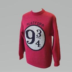 Harry Potter Platform 9 3/4 Sweater - Size XL