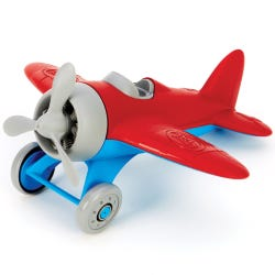 Green Toys Red Airplane Set