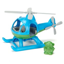 Green Toys Blue Helicopter Set
