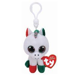 TY Candy Unicorn Key Clip