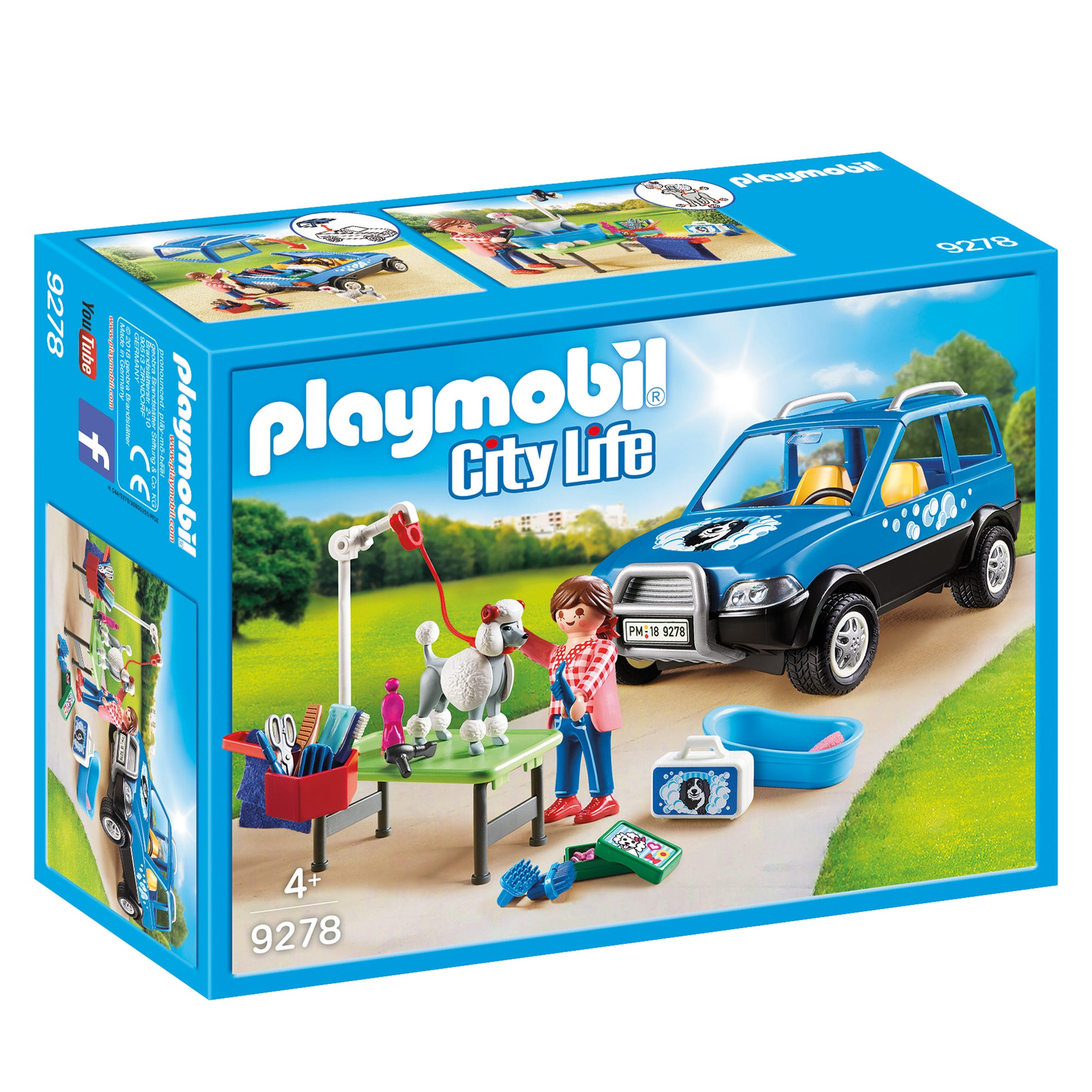Playmobil City Life Mobile Pet Groomer 9278