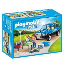 Playmobil City Life Mobile Pet Groomer 9278