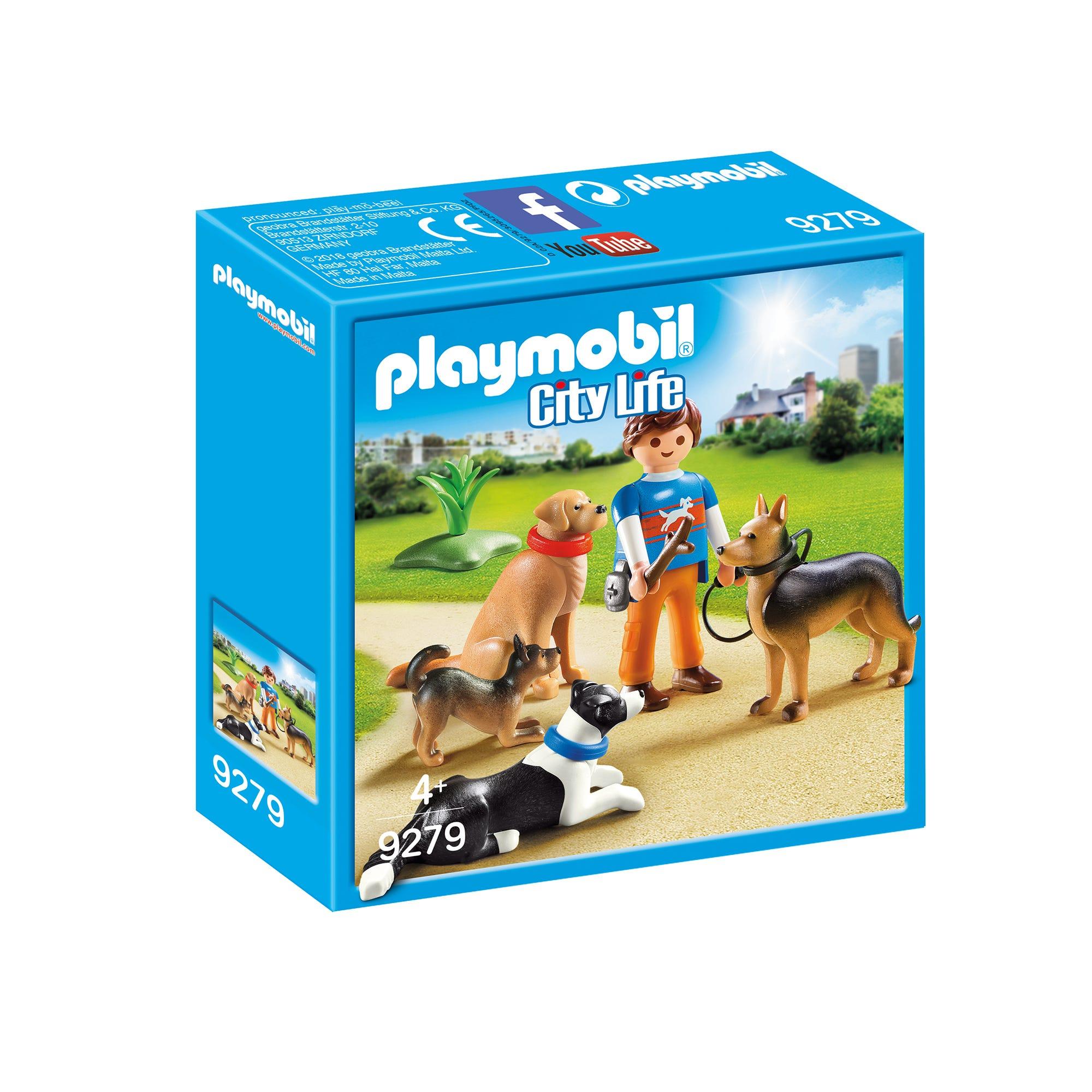 Playmobil City Life Dog Trainer 9279