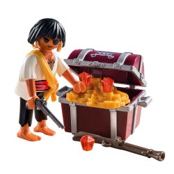 Playmobil Special Plus Pirate with Treasure Chest 9358
