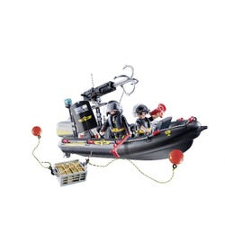 Playmobil Action Swat Boat with Hook Cannon