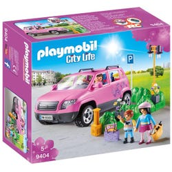 Playmobil City Life Family Car with Parking Space