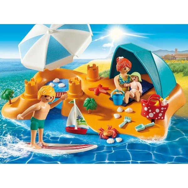 Playmobil Family Fun Family At The Beach