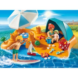 Playmobil Family Fun Family at The Beach