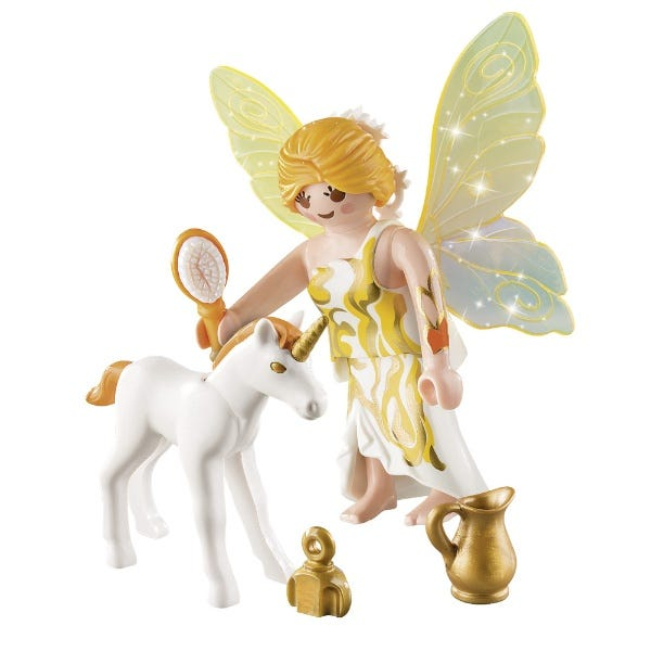 Playmobil Playmobil Special Plus Sun Fairy With Unicorn Foal