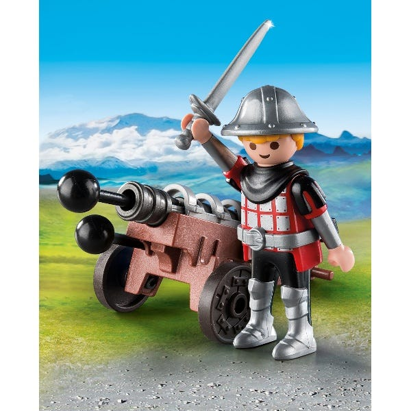 Playmobil 9441 Special Plus Knight With Cannon