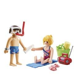Playmobil Family Fun Beachgoers Duo Pack