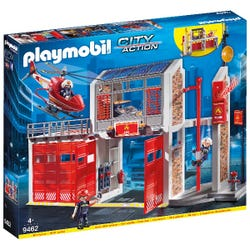 Playmobil Fire Station with Fire Alarm