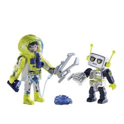 Playmobil Space Astronaut and Robot Duo Pack