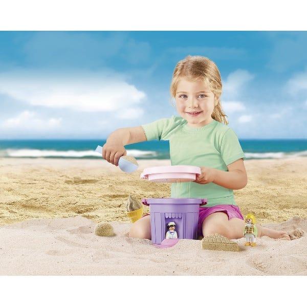 Playmobil Sand Ice Cream Shop Sand Bucket