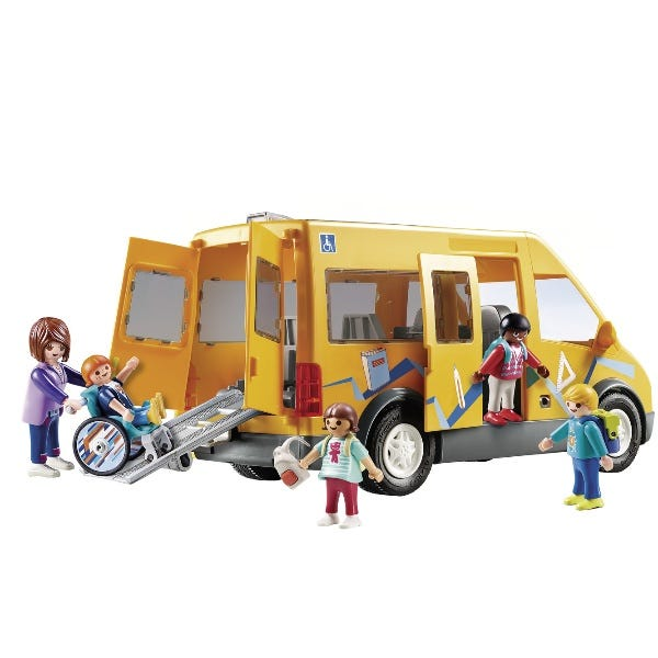 Playmobil City Life School Van