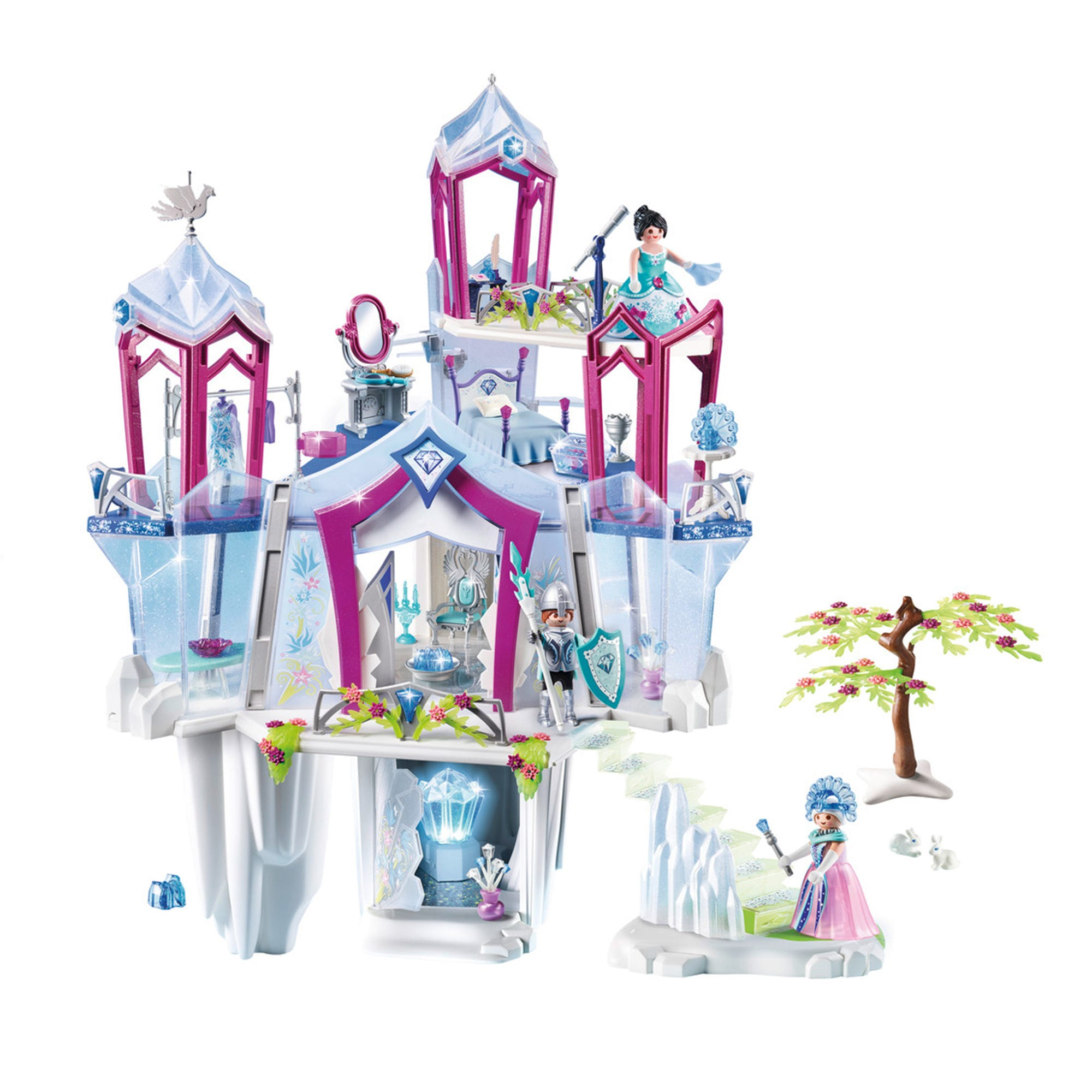 Playmobil 9469 Magic Crystal Palace With Shiny Crystal