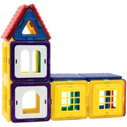 Magformers 28-Piece Wow House Magnetic Construction Set